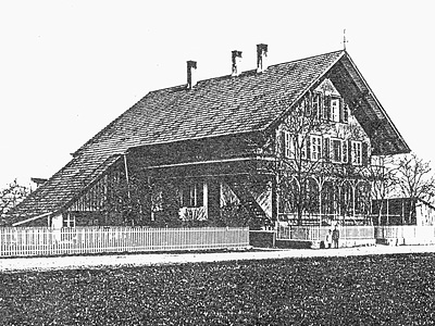 Fraubrunnen AG: Ehemaliges Gebäude 1912