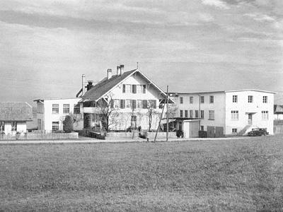 Fabrikgebäude der Fraubrunnen AG 1938