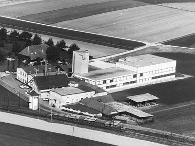 Luftaufnahme der Fraubrunnen AG