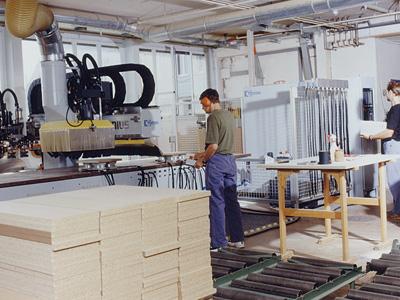 Produktionsanlage der Fraubrunnen AG 1993