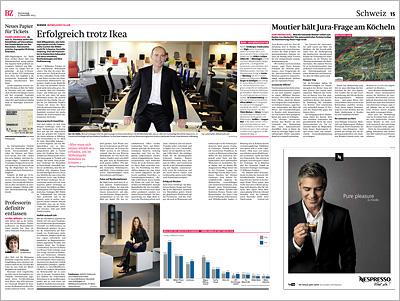 Bericht in der Berner Zeitung BZ vom 05.12.13