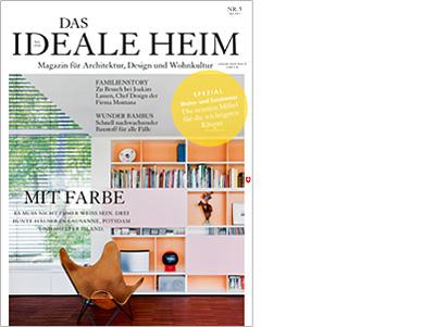 Titelseite Ideales Heim 05/2013