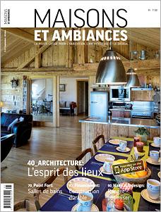 Titelseite Maison et Ambiances 05/2013