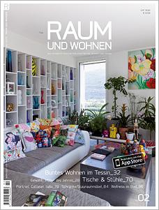 Titelseite Raum und Wohnen 02/2013