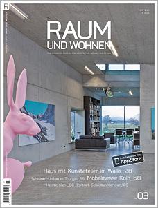 Titelseite Raum und Wohnen 03/2013