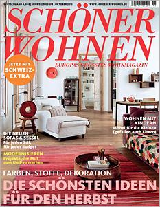 Titelseite Schöner Wohnen 10/2013