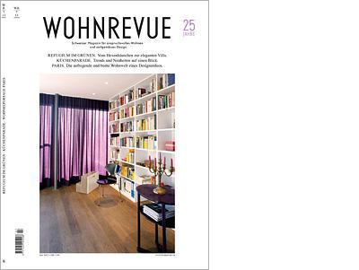 Titelseite Wohnrevue 07/2013
