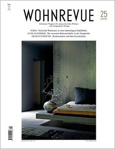 Titelseite Wohnrevue 10/2013