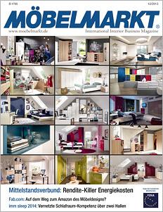 Titelseite MÖBELMARKT 12/2013