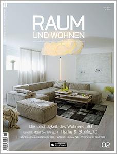 Titelseite Raum und Wohnen 02/2014