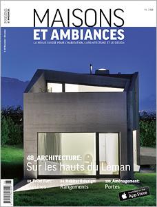 Titelseite MAISONS ET AMBIANCES 6/2014