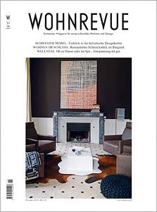 Wohnrevue 11/2014, Titelseite
