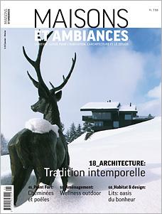 Titelseite MAISONS ET AMBIANCES 1/2015