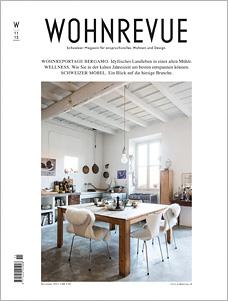 Wohnrevue 11/2015, Titelseite