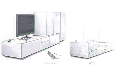 Skizze Design Link System